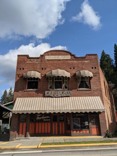 The Carlson Block Pizza in Wilkeson Washington