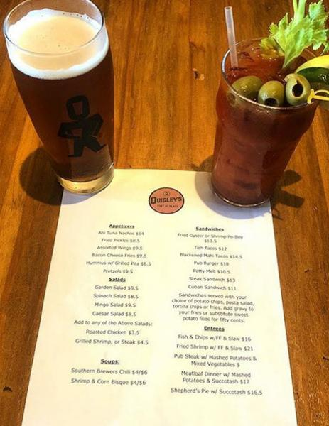 Quigley's Pint and Plate