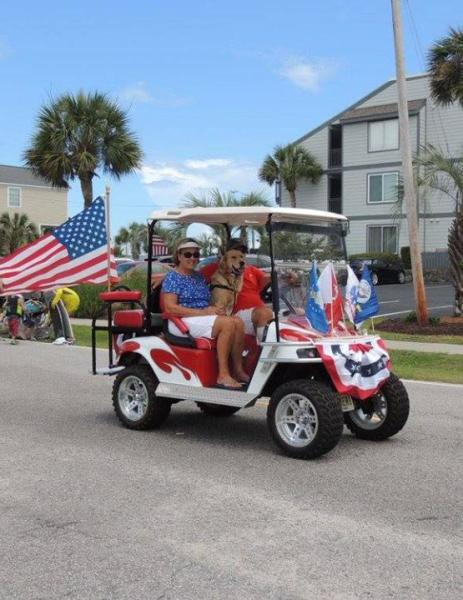 Memorial Day Golf Cart Parade