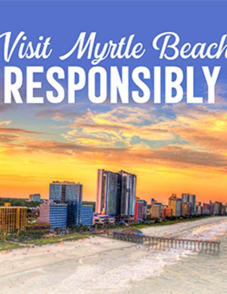 Visit Myrtle Beach Responsibly flyer