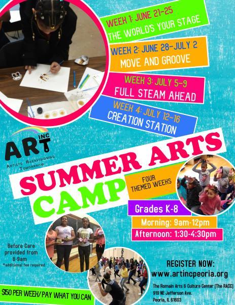 ART, Inc Summer Camp 2021