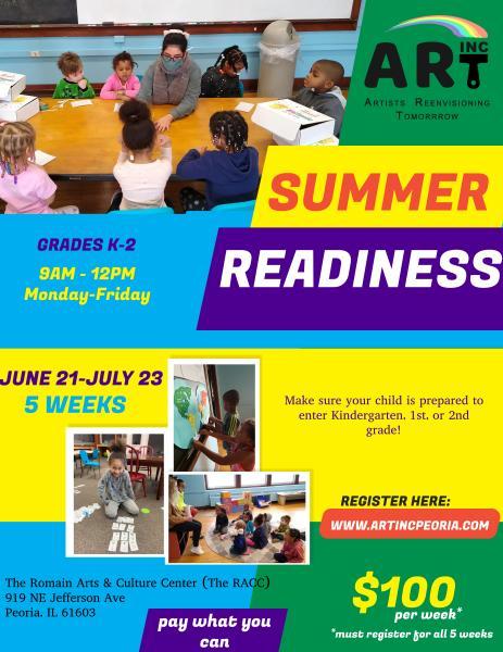 Summer Readiness Art, Inc 2021
