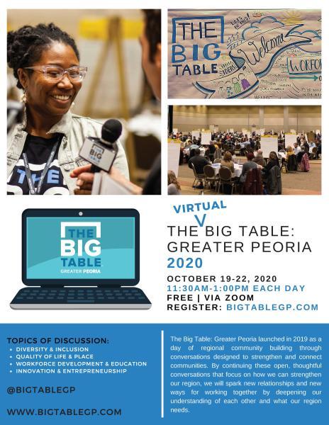 Big Table 2020 Flyer