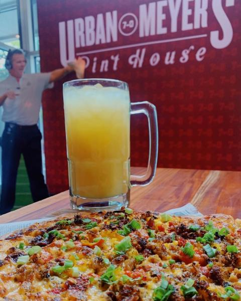 Dining and drink at Urban Meyer's Pinthouse