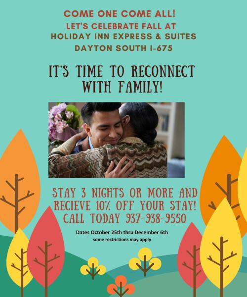 Holiday Inn Express & Suites Reconnect with Family