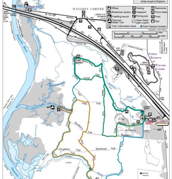 Jug-Bay-Wetlands-Map
