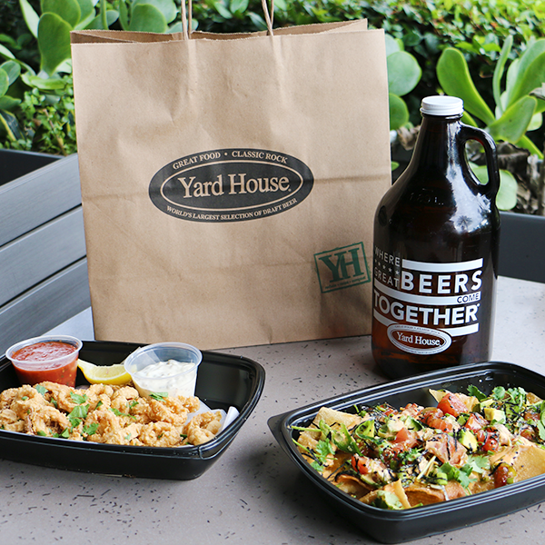 Tailgate take-out pack from the Yard House.
