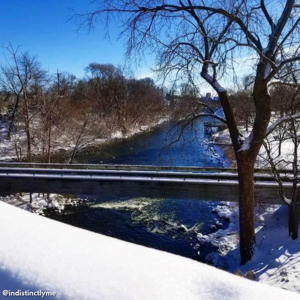 Riverside Park in the Winter