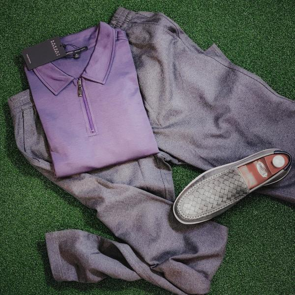 Photo of shirt, pants and shoes from The Man's Shop