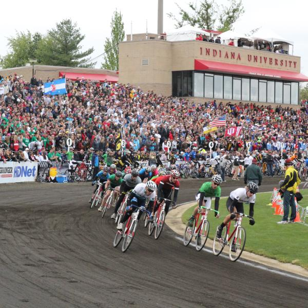 IU Little 500 Men's Race at Bill Armstrong