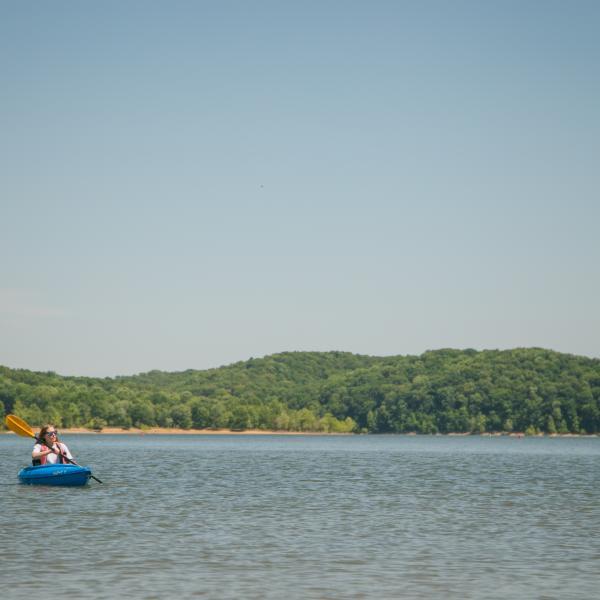 kayaking at Fairfax