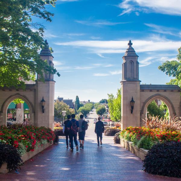 Sample Gates during summer