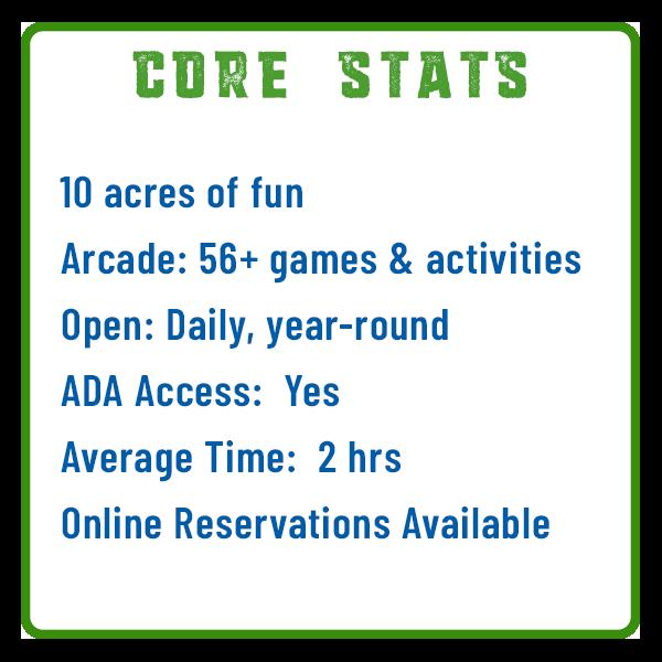 Adventure Sports Core Stats Adventure Trail
