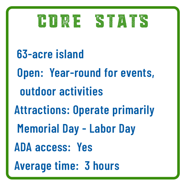 City Island Core Stats Adventure Trail