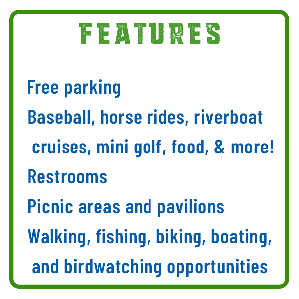 City Island Features Adventure Trail