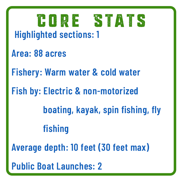 Little Buffalo State Park Fishing Core Stats Adventure Trail