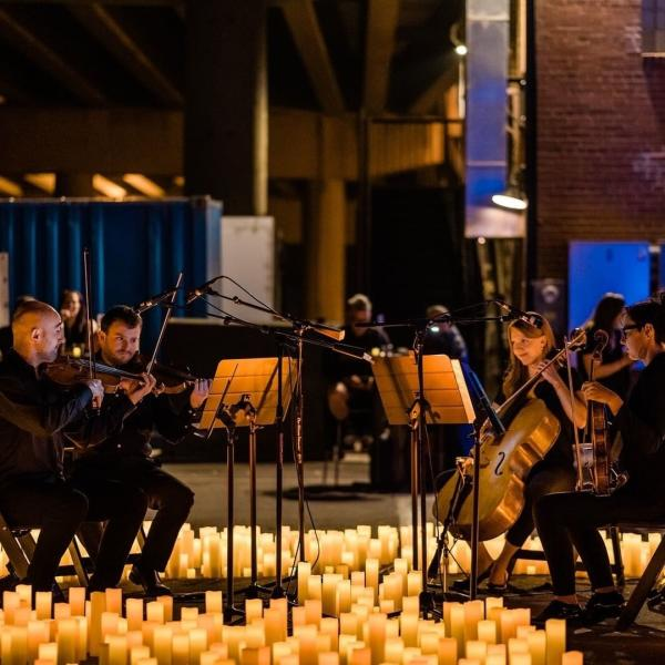 Musicians At Fever Candlelight Jazz: Duke Ellington & George Gershwin In Houston, TX