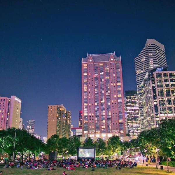 Discovery Green In Houston, TX