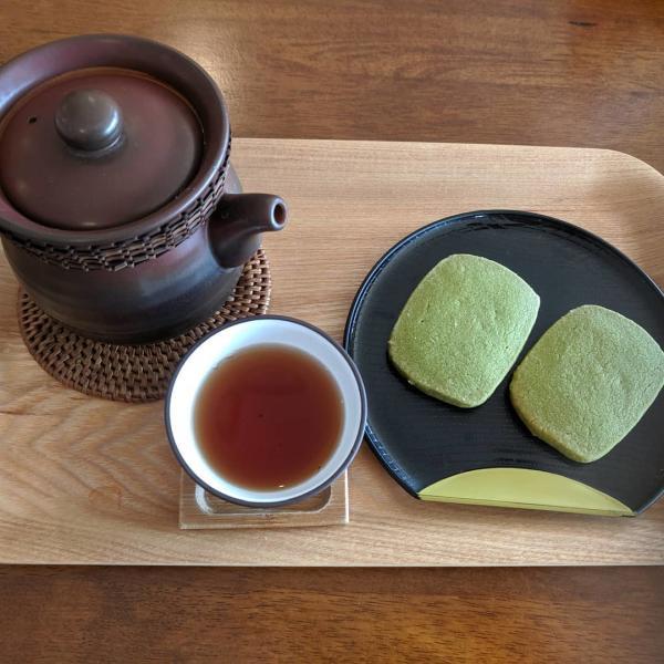 Cookies, Tea and Teapot From Ten Yen Tea In Houston, TX