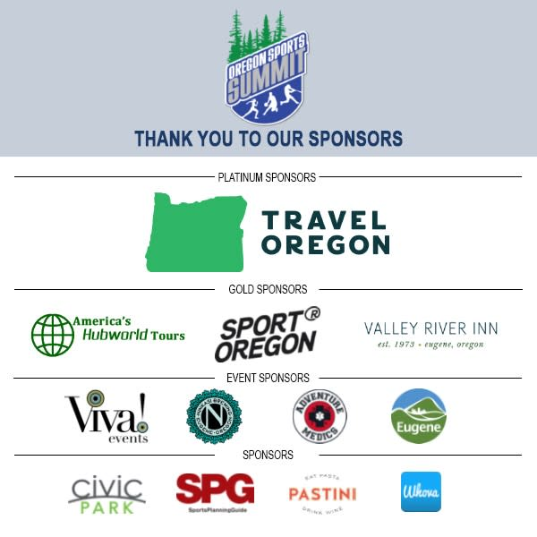 2020 Oregon Sports Summit Sponsors