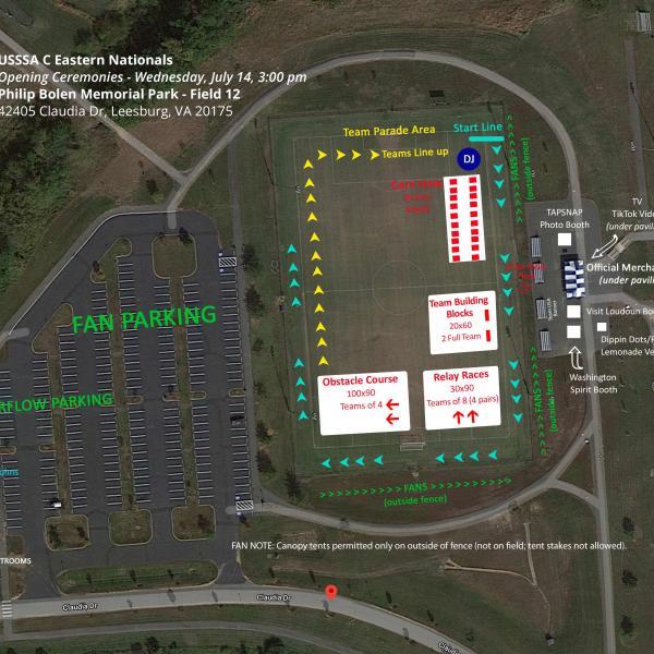 Opening Ceremonies Field 12 - BOLEN USSSA 2021