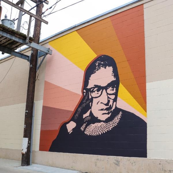 RBG Art Mural
