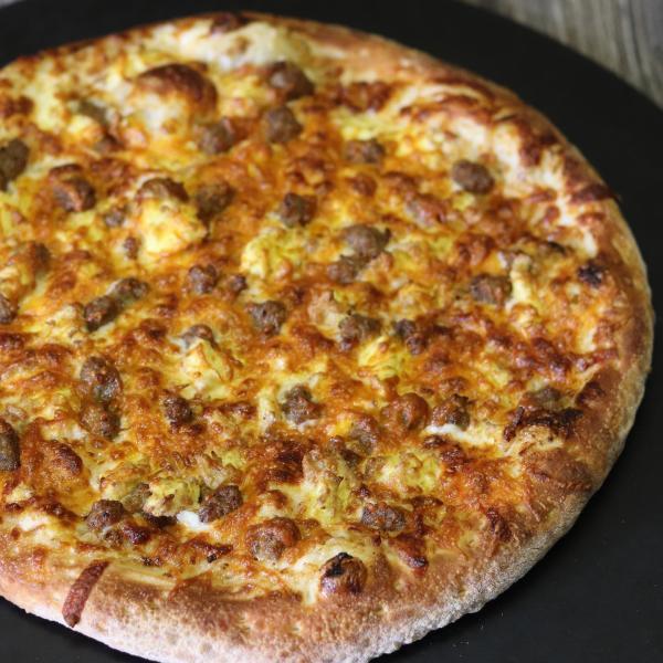 Johnny Boy's breakfast pizza