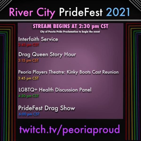 River City PrideFest Events - 2021