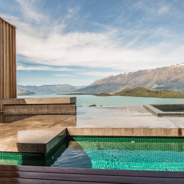 Aro Ha Queenstown luxury retreat