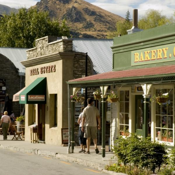 The historic town of Arrowtown