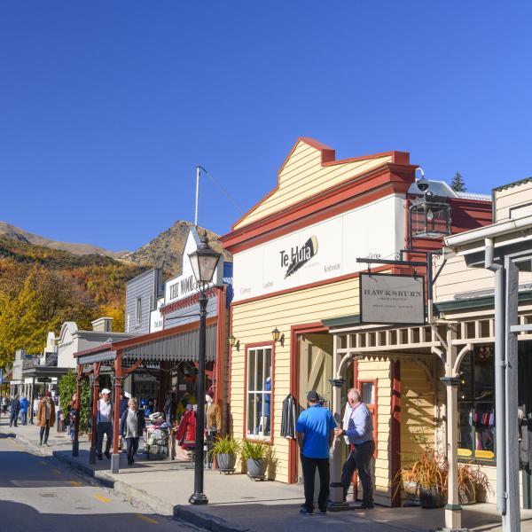 Buckingham Street, Arrowtown in Autumn
