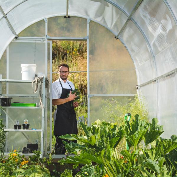 Gibbston Valley Winery Chefs Garden