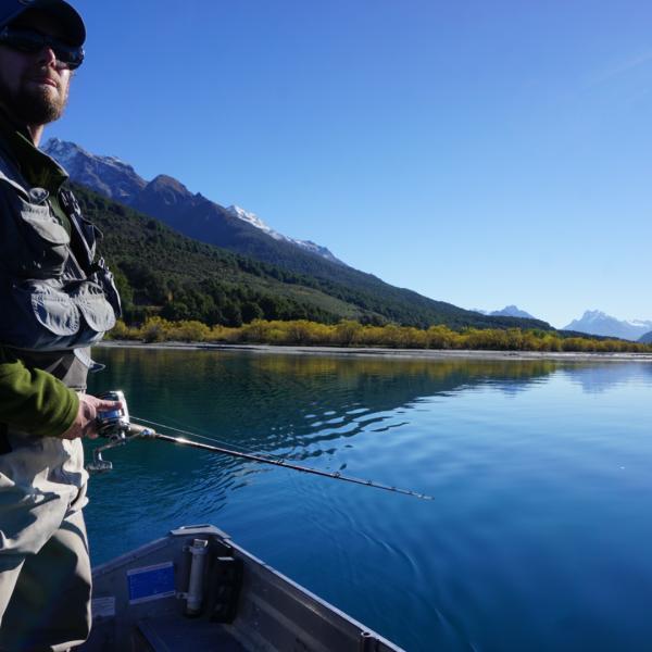 Fishing in Glenorchy