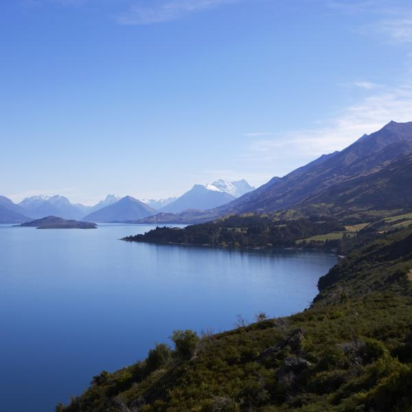 Panoramic Views on the Glenorchy Road