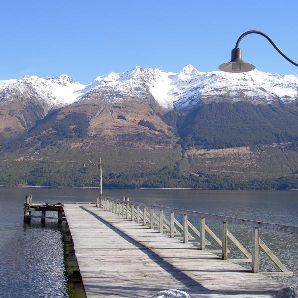 Glenorchy mountain view