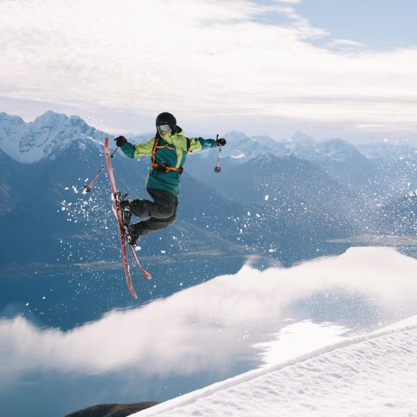 Skiing for pros in Queenstown