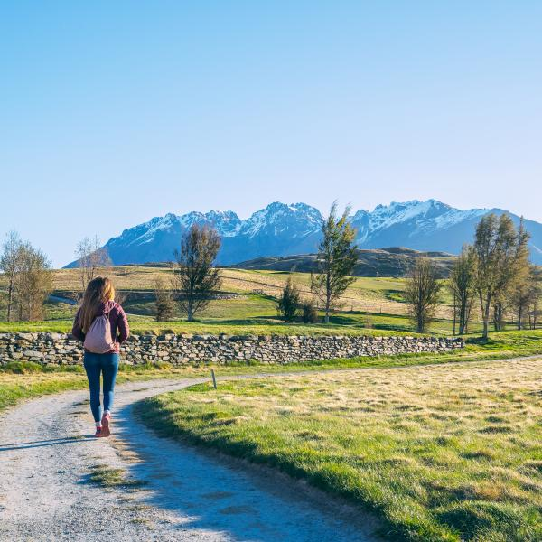 Spring Walks around Jacks Point, Queenstown