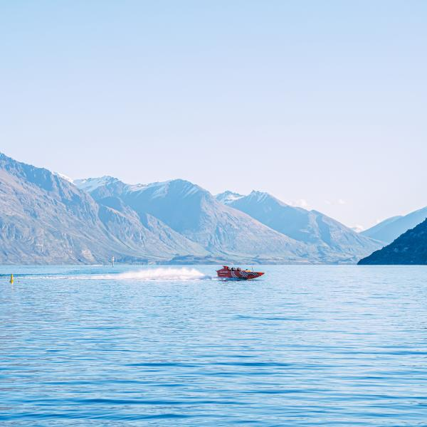 Lake Wakatipu in Spring