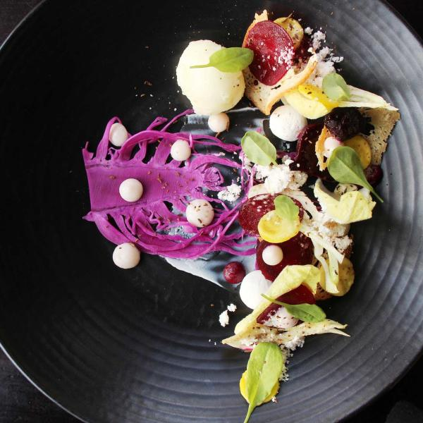 Beetroot salad from Millhouse Restaurant