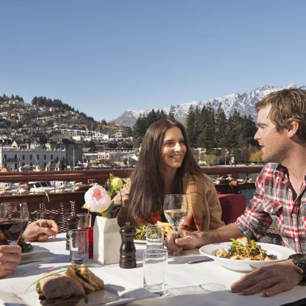 Dining in Queenstown