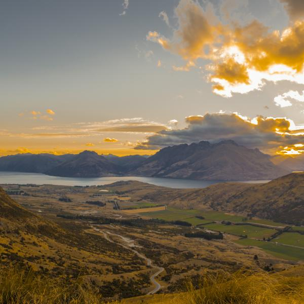 View from the Remarkables road