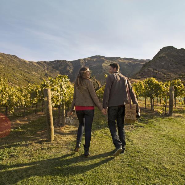 Couple at Brennan wines