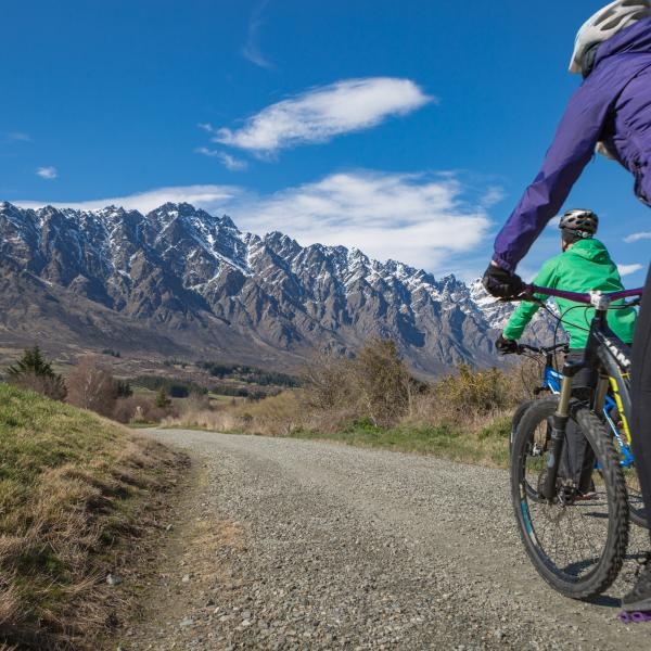 The Queenstown Trail winds through Queenstown's incredible landscapes