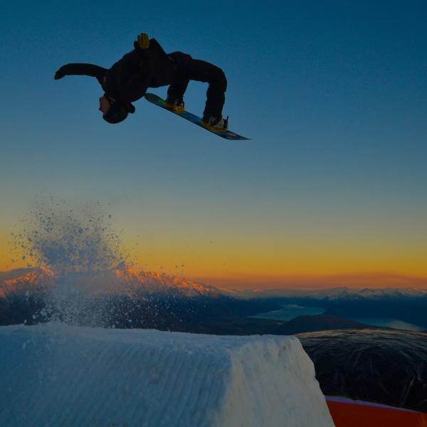 Night Ski at Coronet Peak