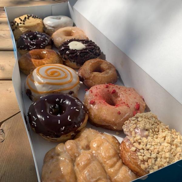 Darkside donuts box