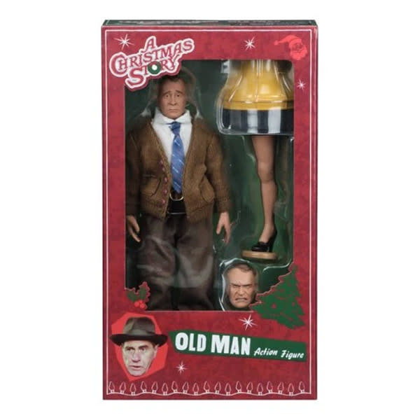 """""""A Christmas Story"""" Old Man Action Figure"""