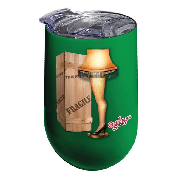 """A Christmas Story"" Leg Lamp Wine Tumbler"