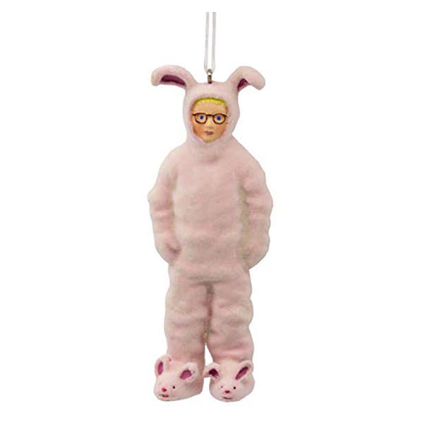 """""""A Christmas Story"""" Ralphie in Bunny Suit Ornament"""