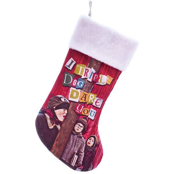 """A Christmas Story"" Triple Dog Dare Stocking"