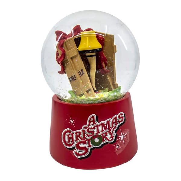 """A Christmas Story"" Leg Lamp Musical Water Globe"